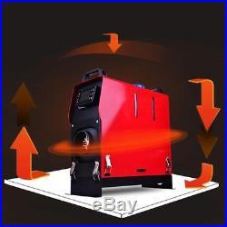 5000W Réchauffeur Air Diesel Pour Auto Camions Bateaux 12V LCD Parking Chauffage