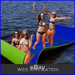 550x180cm Tapis Flottant Aquatique pour Piscine d'eau Matelas Bateaux Vocation