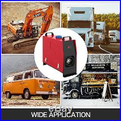 5KW 12V Chauffage Diesel Air Heater Avec Commutateur Pour Camion Bateau Voiture