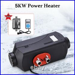 5KW 12V Chauffage Diesel Air Heater avec silencieux pour Voiture Camion Bateau