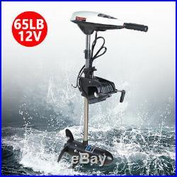 65LBS 12V Moteur électrique hors-bord pour Bateau Moteur de pêche à la traîne