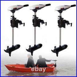 65LBS Pêche Barque Contrôle Moteur électrique hors-bord pour Barque Bateau 660W