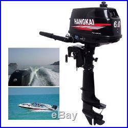 6CV Moteur 2Temps Pour Barque Moteur Hors-Bord Moteur De Bateaux Boat motor DHL