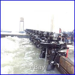 6HP Moteur Hors Bord Pour Barque Moteur Hors-Bord Moteur De Bateaux Boat Engine