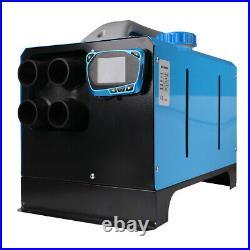 8000W 4-trous Air Diesel Heater Chauffage de l'air pour Caravane Camion Bateau