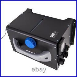 8KW 12V Diesel Air Heater LCD Switch Robinet de chauffage for Bateau Yacht Bus