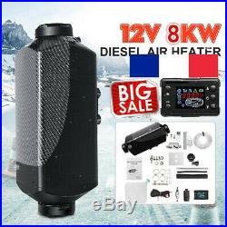 8KW Diesel Air Heater Robinet de chauffage 12V pour bateau voiture 88