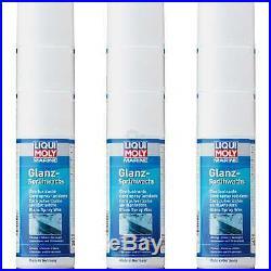 9x Liqui Moly Marine Brillant Spray Bateau Nettoyant pour Sceller Cire 400 ML