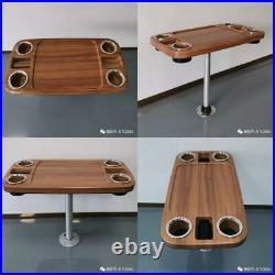 ABS Teck Bois Grain Rectangle Table Haut 457 863 101Mm Pour Marine Bateau Rv 5