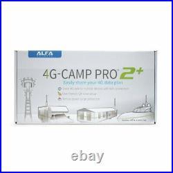 Alfa 4G Camp Pro 2 + Gamme Extendeur Kit Pour Bateaux, Yachts, Caravanes Rvs &
