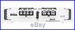 Amplificateur Boss Marine Mr1002 Pour Radio Bateau Avec Deux Hautparleur