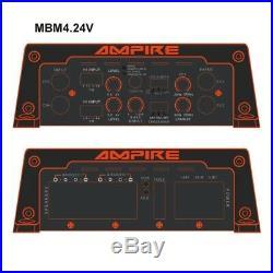 Amplificateur RMS classe D audio 500W 24V à 4 ohm pour bateau bus