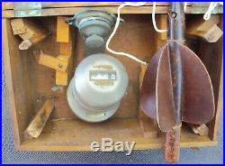 Ancien loch système dhélice pour calculer la vitesse des bateaux