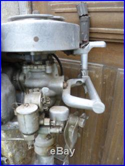 Ancien moteur, propulseur JOHNSON AT. A50 pour bateaux année 1933