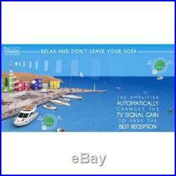 Antenne TV pour Bateau Glomex Talitha V9125AGCU Amplification Automatique