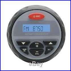 Audio Stéréo Radio Marine Etanche Bluetooth MP3 SOUND Système Pour Bateau AM