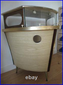 Bar Bateau Vintage 50s 60s Pop & Kitsch Pupitre Pour Dj Disc Jockey