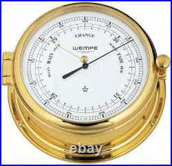 Barometer Admiral II Laiton De Wempe, Baromètre pour Bateau, Yacht