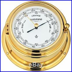 Barometer Bremen II Laiton de Wempe, Baromètre Bateau, pour Yacht