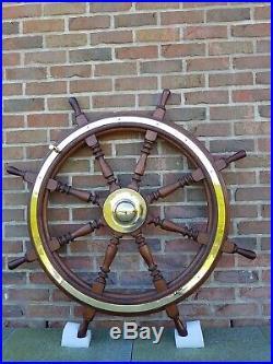 Barre de Gouvernail Bateau de 1930 pour navigation ou superbe en déco