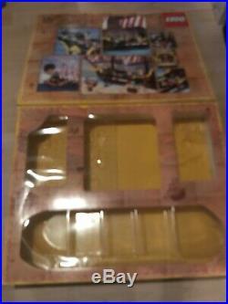 Bateau Pirates LEGO 6285 Black Seas Barracuda de 1989 pour pièces ou à compléter