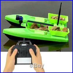 Bateau à Appâts Pour la Pêche Télécommandé Haut-puissance Double Moteur Sensible