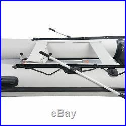 Bateau pneumatique à rames 330 cm NEMAXX pour 5 personnes bateau de pêche