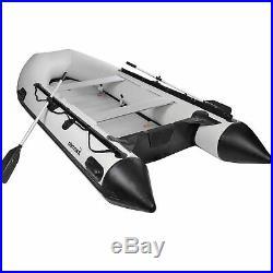 Bateau pneumatique à rames 380 cm NEMAXX pour 6+1 personnes bateau de pêche