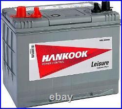 Batterie De Decharge Lente Pour Caravane Camping Car Et Bateau Loisirs 80Ah 12V