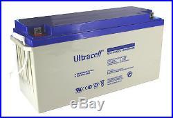 Batterie GEL 150Ah Ultracell UCG150-12 marque anglaise. Pour solaire, bateau, CC
