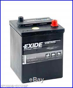 Batterie Marine Exide EU80-6 6v 80ah pour bateau, vehicule