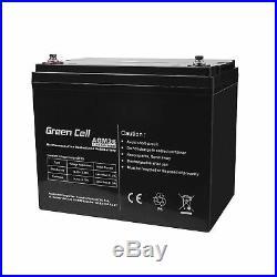 Batterie au Gel Plomb AGM 12V 84Ah Sans entretien pour Camping Car Bateau