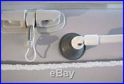 Bimini Haut 130 cm Large, Toit Ouvrant / Capote pour Bateaux Gonflables