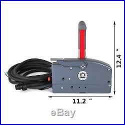 Boîte de Command à Distance Hors-bord de Bateau pour Yamaha 703-48205 avec Tuyau