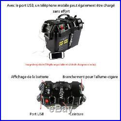 Boîte de batterie Box pour Moteur électrique Barque bateau Hors-bord Étanche