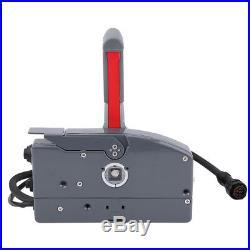 Boîtier de commande à distance pour montage latéral de moteur de bateau avec