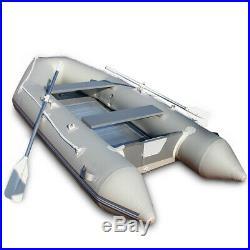 Canot avec Aluboden pour 4 Personnes Jusqu'à 536 kg Angelboot Bateau à Aubes