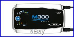 Chargeur CTEK M300 12v 25A pour batterie bateau marine