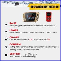 Chauffage 8000w pour camions camping-cars bateaux Bus + LCD interrupteur à clé +