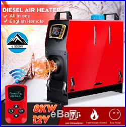 Chauffage pour camions camping-cars bateaux 8000 W Air diesels chauffage 8KW 12