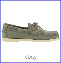 Chaussure bateau Sebago Docksides Portland en cuir cousu main pour homme Sebago