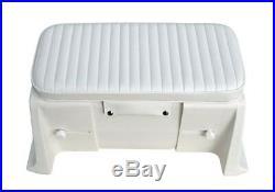 Coffre de Rangement pour Bateaux Gonflables 62-75cm Largeur (Vertical Murs)