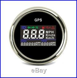 Compteur de Vitesse GPS pour Voiture Bateau Quad ATV Enduro Camion Moto Cross