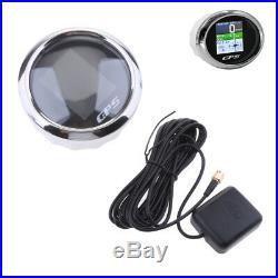 Compteur de vitesse pour bateaux moto GPS LCD numérique MPH SOG COG ODO