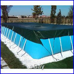 Couverture de bateau pour l'hiver 6,00 x 9,50 m piscine hors sol rectangulaire