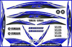 Décalque Kit pour 05-09 Yamaha VX110 Jetski Bateau Graphisme Waverunner VX 1100