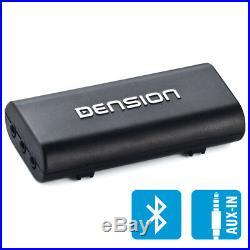 Dension iPhone Android Bluetooth téléphone music box pour voiture Camion Bateau