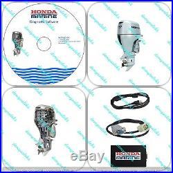 Diagnostic Kit pour Honda Bateau Marine Hors-Bord