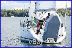 Dinghy Rings FLEX porte annexe pour bateau Support leve tende