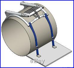 Echelle de Bain pour Bateaux Gonflables Escalier avec Schnellentriegelung